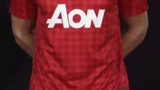 New Official 2013 Manchester United Player Kit Launch