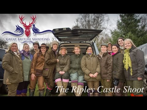 Driven Pheasant Shooting: The Ripley Castle Shoot
