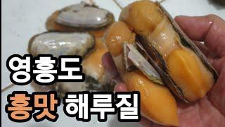 영흥도 홍맛 해루질, 주먹소라는 덤!(뻘지형 해루질 꿀팁! 이렇게 하면 더욱 안전합니다.)