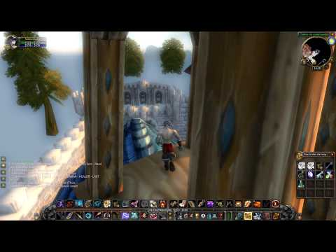 WoW Classic Exploration - Stormwind Roofs Wall-jumping Part 1 (Dopefish Walk Tribute)
