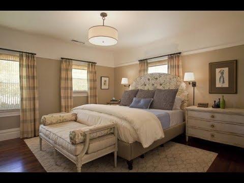 روعة وجمال اللون البيج في حوائط غرف النوم