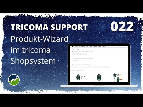 tricoma support #022: Produkt-Wizard im tricoma Shopsystem