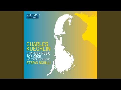 Oboe Sonata, Op. 58: I. Allegro moderato: Pastorale - La terre - Les travaux des champs - Le...