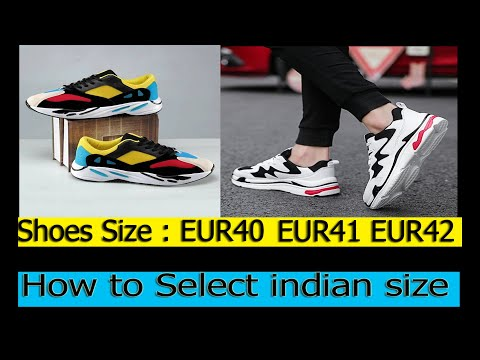 How To Select Shoes Size Euro To India | What Is EU Shoe Size | Euro Size To Indian Size