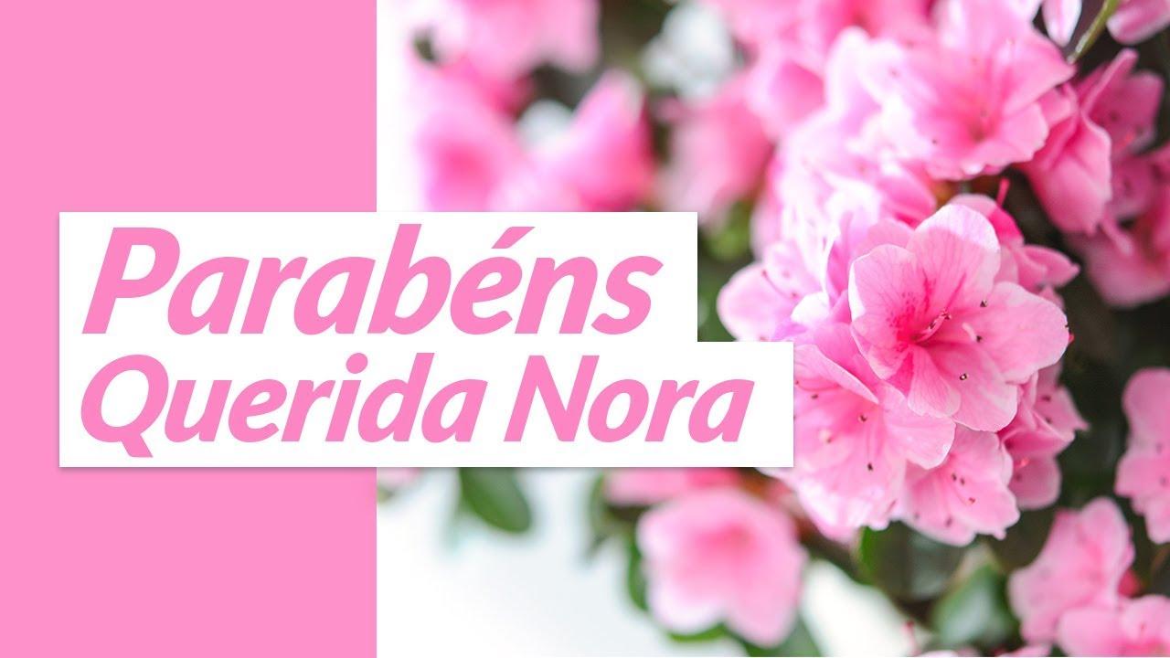 Parabéns Sogra Querida: Parabéns, Querida Nora! (Mensagem De Aniversário De Sogra