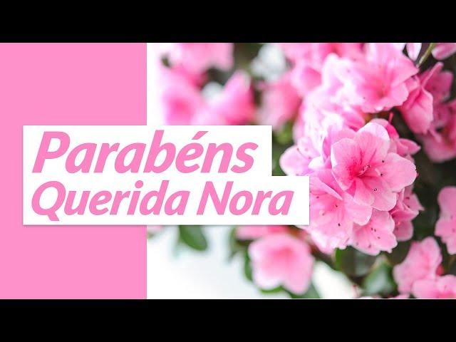 Mensagens De Aniversário Para Nora Mensagens De Aniversário