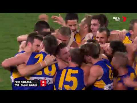 Last Two Minutes - First Elimination Final Port Adelaide v West Coast