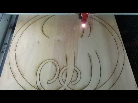 Laser Cut Wooden Monogram