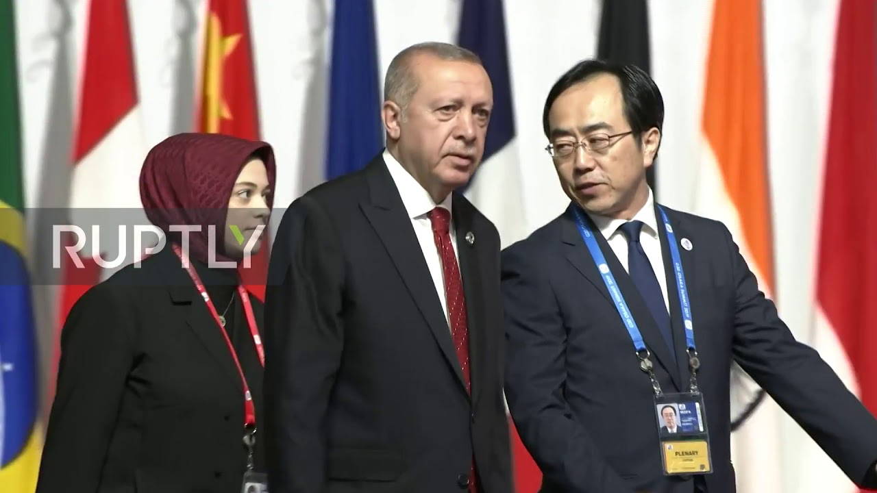 Japan: Erdogan walks the red carpet at G20 summit