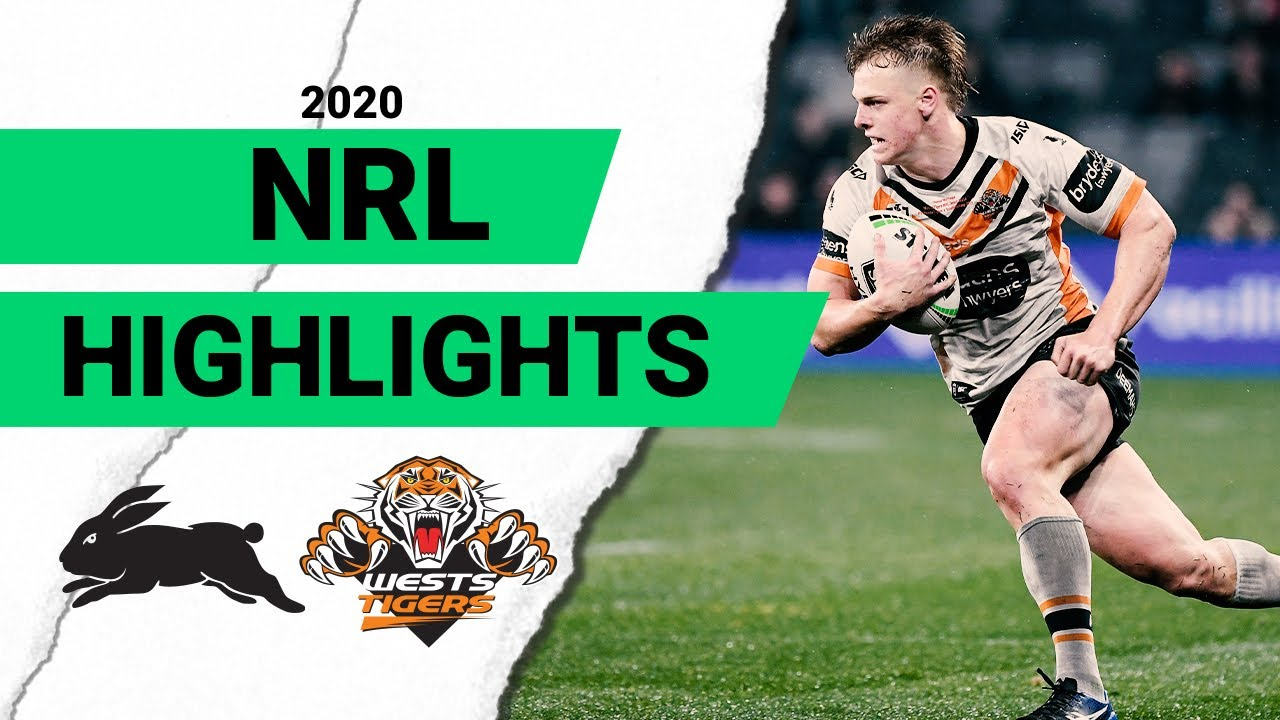 Rabbitohs v Wests Tigers | Round 9 2020 | Telstra Premiership | NRL