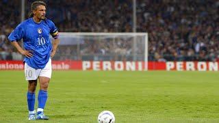 Roberto Baggio Rare The Finest Player Ever ||hd||