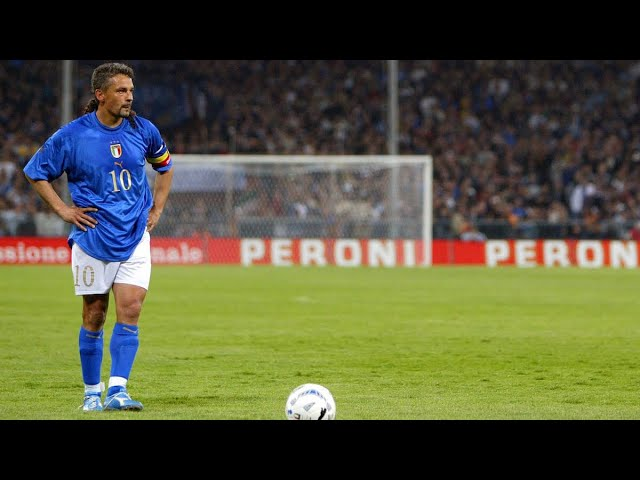 Roberto Baggio Rare The Finest Player Ever Hd Youtube