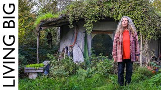 Woman Builds £1000 Tiny Earthen Home To Live Close To Natur...