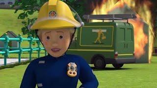 Avertissement d'incendie de Julie! ⭐️ Sam le Pompier | Meilleures vidéos de pompier | Dessin animé