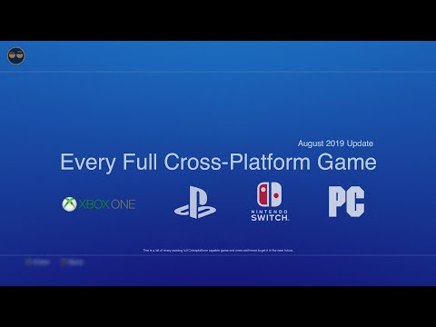 Every PS4 Xbox One Cross Platform Games! (Current And Confirmed To Get It)