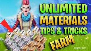 HOW TO GET UNLIMITED MATERIAL FORTNITE PvE