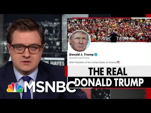 President Donald Trump's Strange Habit Of Retweeting Obscure Accounts | All In | MSNBC