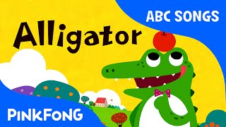 A | Alligator | ABC Alphabet Songs | Phonics | PINKFONG Songs for Children