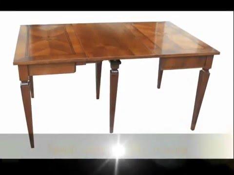 produzione di tavoli a consolle allungabili su misura in