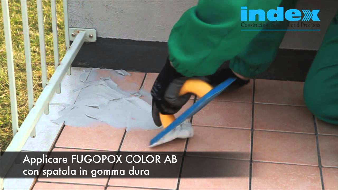 Fugopox Color Ab Index Spa Stuccature Di Fughe Esposte Ad