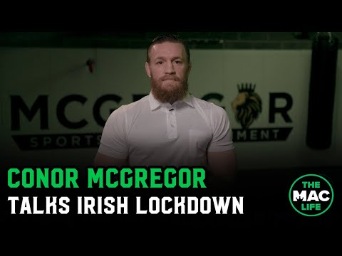 "Conor McGregor On Current Lockdown: ""It's Five Weeks To Freedom, We Can Do This'"""