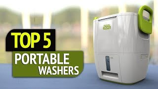 TOP 5: Portable Washers 2018
