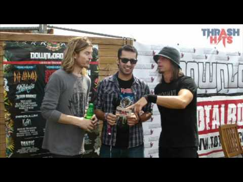 Thrash Hits TV: Puddle Of Mudd @ Download Festival 2011