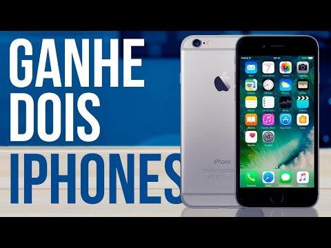 COMO GANHAR UM IPHONE 6 E UM IPHONE 5S