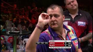 2017 Melbourne Darts Masters Round 1 Smith vs Platt