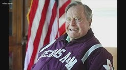 Why George H.W. Bush fell in love with Texas A&M University