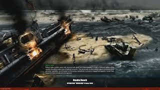 Omaha Beach - [USA] - Faces of War Campaign MOD - MOWAS 2 [FOW]