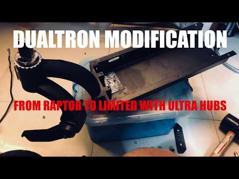 Dualtron Modification - Converting A Dualtron Raptor Into A Limited With Ultra Hubs