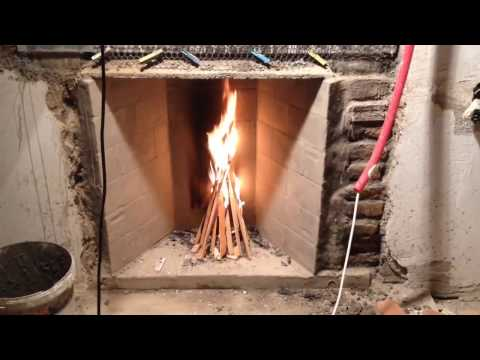 Rumford Fireplace And The Casini Damper TEST 🔥