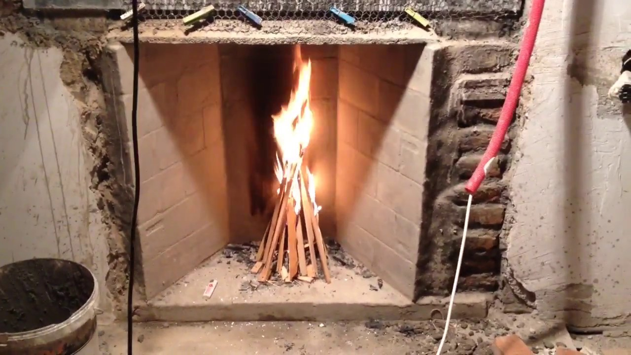 Rumford fireplace and the casini damper test youtube for Rumford fireplace insert
