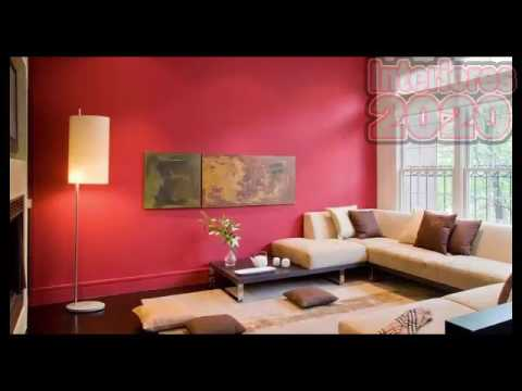 Catalogos de pinturas para interiores youtube - Pintura metalizada pared ...