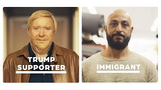 Trump Supporter vs Immigrant: 24 Hours Side By Side