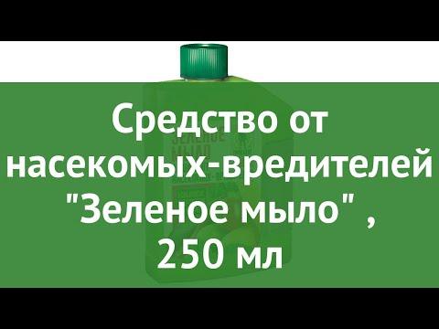 Средство от насекомых-вредителей Зеленое мыло (Грин Бэлт), 250 мл обзор 01-675