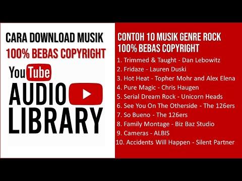 Cara Download Musik Bebas Copyright untuk Video YouTube