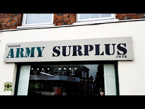 Thatcham Army Surplus Shop 4K