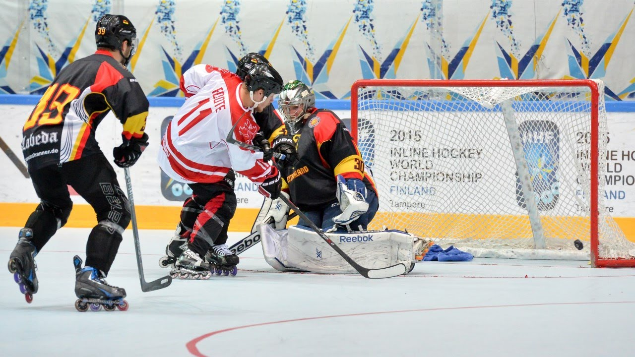 d13ebb1c567 Canada vs. Germany - 2015 IIHF Inline Hockey World Championship ...
