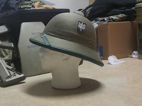 WWII German Afrika Korps DAK Pith Helmet