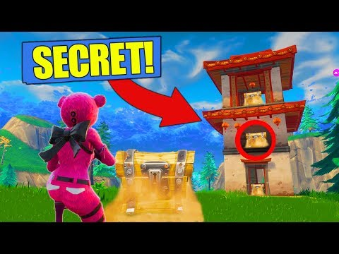The *NEW* SECRET LOOT SHRINES In Fortnite Battle Royale! [Challenge]