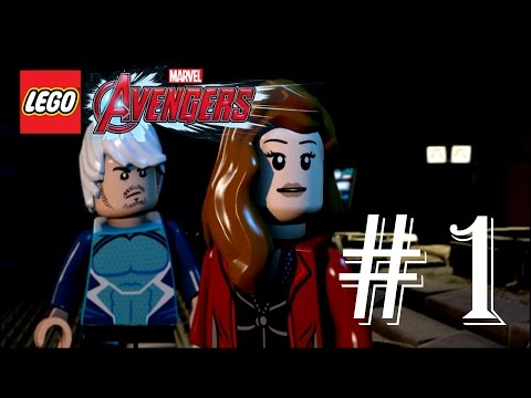 LEGO Marvel Avengers - Story Walkthrough Part 1 - Struck Off the List