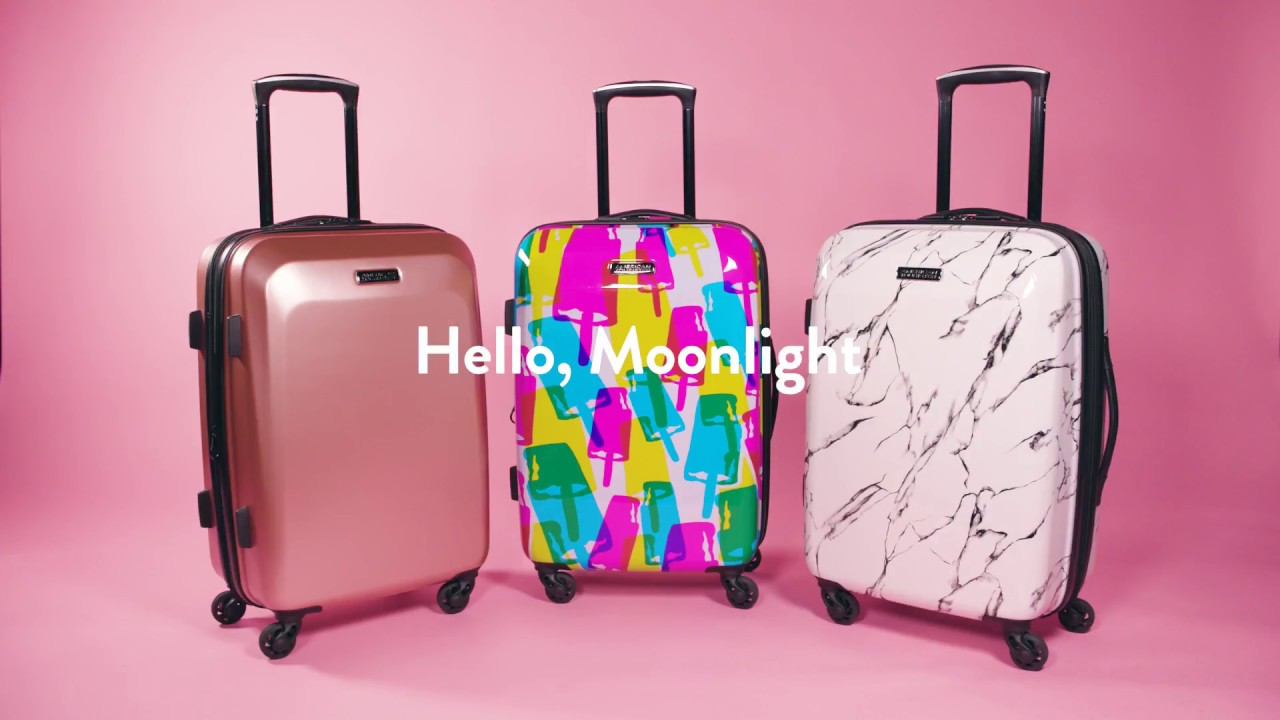 c5db65bda439 Get More Packing Space With American Tourister's Moonlight Expandable  Hardside Spinner Luggage