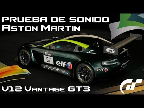 GT SPORT l ASTON MARTIN V12 VANTAGE GT3 l SOUND