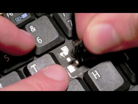 How to replace a key on Acer Notebook Keyboard - Type 8