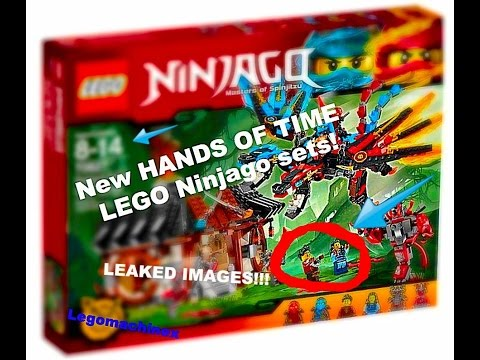 New hands of time Ninjago sets leaked images!