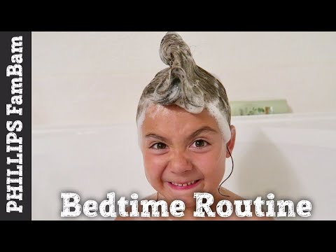 KIDS NIGHTLY BEDTIME ROUTINE  | WALMART ONLINE GROCERY ORDER PLACED | PHILLIPS FamBam Vlogs