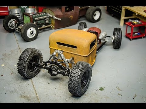 RCengineering, New RC Rat Rod Chassis Fabrication and Suspension, #4 Ratrod build Episode #!