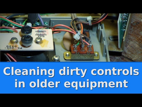 Ham Radio - Tips   Cleaning dirty controls in older equipment